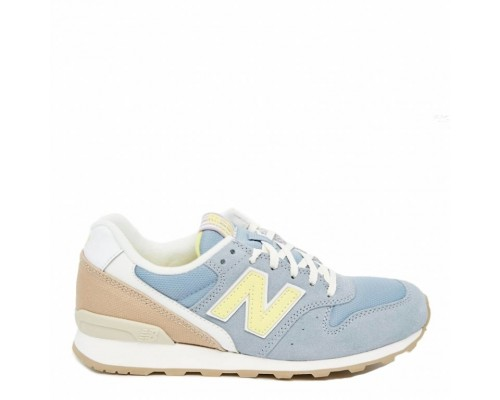 Кроссовки New Balance 996 Suede Baskets Bleu Gris