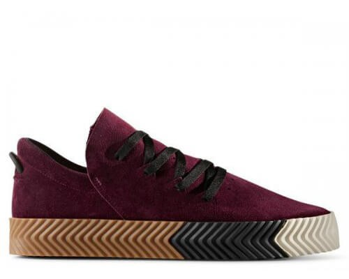 Кроссовки Alexander Wang x Adidas Originals Skate Bordo