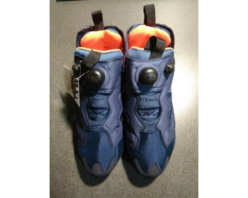 Кроссовки Reebok Insta Pump Fury Blue/Orange (Брак)